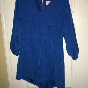 Jack by bb Dakota blue romper size 8